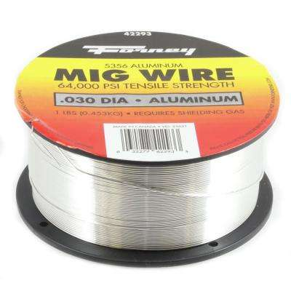 0.030 Dia 5356 Aluminum Alloy MIG Wire 1 lb. Spool