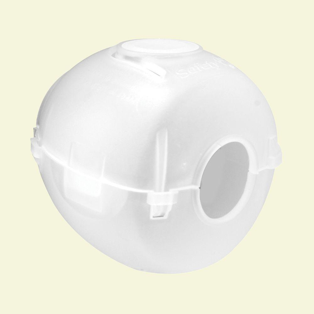 Prime Line Plastic Door Knob Cover S 4441 The Home Depot