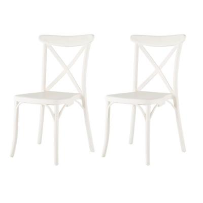 White Dining Chairs Kitchen Dining Room Furniture The Home Depot