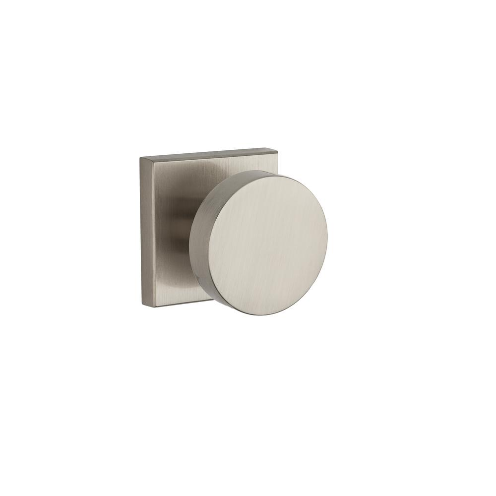 Contemporary Reserve Satin Nickel Full Dummy Knob