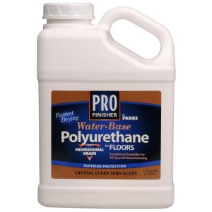 Rust Oleum Parks 1 Gal Crystal Clear Satin Water Based