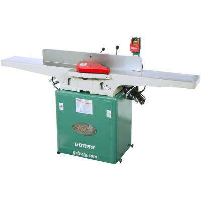 12 Amp 8 in. Corded Jointer with Built-in Mobile Base