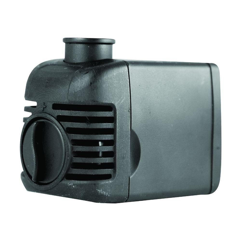 Total pond 500 gph fountain pump 52228 the home depot for Pond waterfall pump