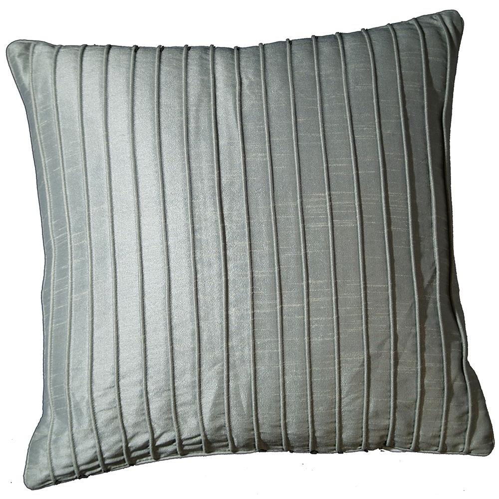 LR Resources Contemporary Marlene Icicle 18 in. x 18 in. Square Decorative Accent Pillow (2-Pack)