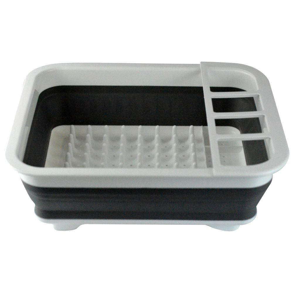 Charmant Southern Homewares Collapsible Over The Sink Dish Drainer Tub