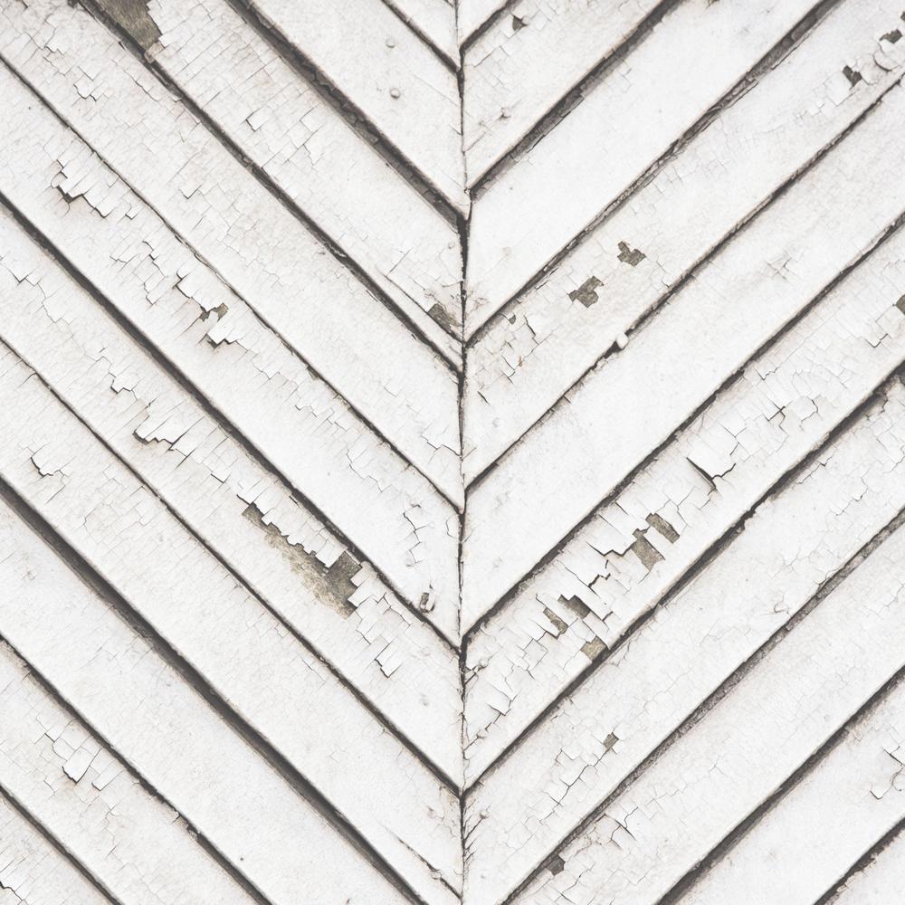 Strata Parquet Wood White Removable Wallpaper Sample