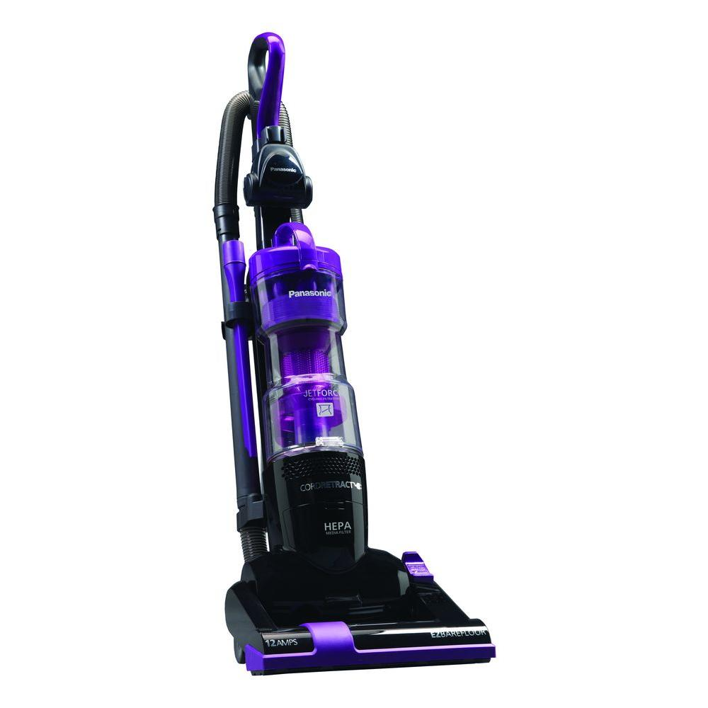 Panasonic Jet Force Upright Bagless Vacuum Cleaner in Violet
