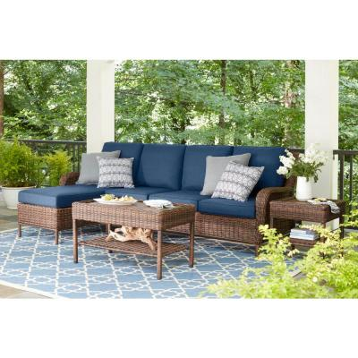 Outdoor Sectionals - Outdoor Lounge Furniture - The Home Depot
