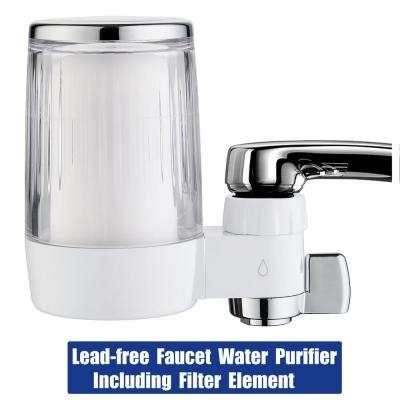 ABS Water Filtration System with Double Outlet and Large Water Flow Include Filter Element