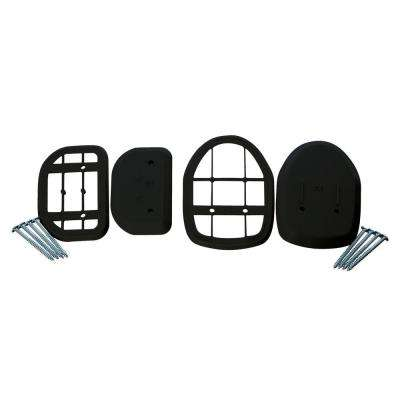 Black Spacer Kit for Retractable Indoor/Outdoor Gate