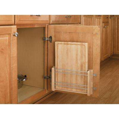 16.438 in. H x 13.5 in. W x 2.8 in. D Cabinet Door Mount Wood Cutting Board