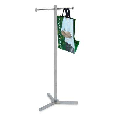 20 in. W x 45 in. H  Chrome Garment Rack