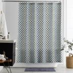 Pix 72 in. Organic Cotton Percale Shower Curtain