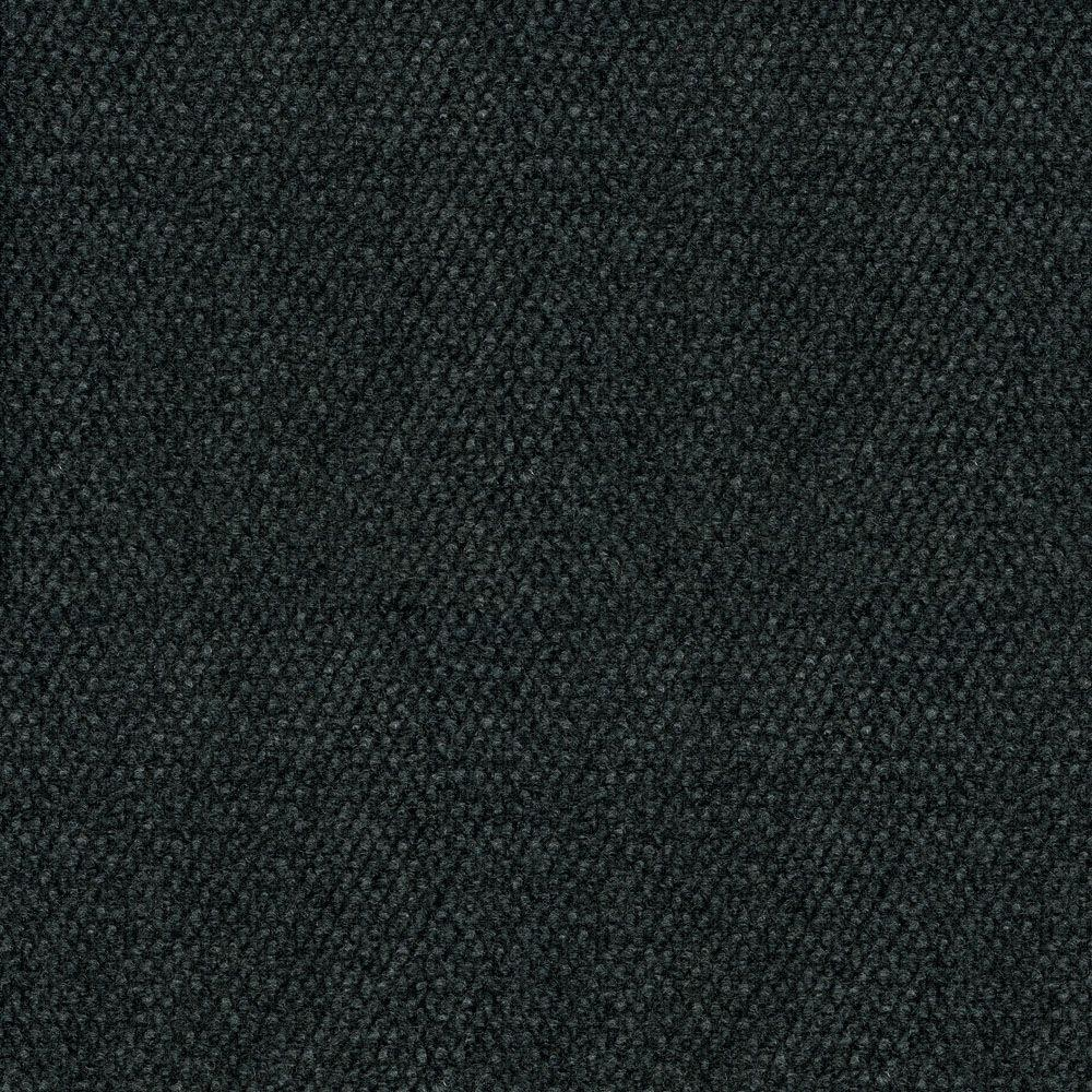 TrafficMASTER Hobnail Black Texture 18 in. x 18 in. Indoor and ...