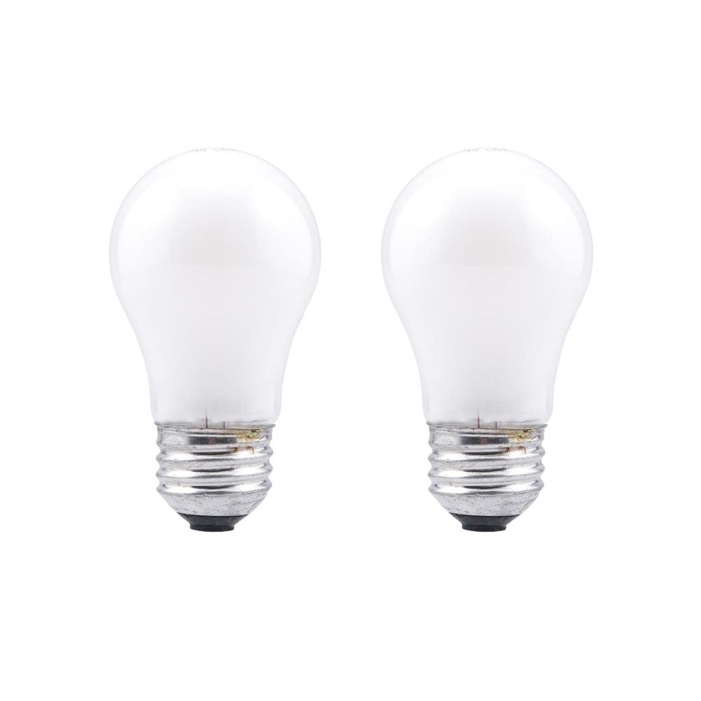 A15 Incandescent Light Bulb 2 Pack