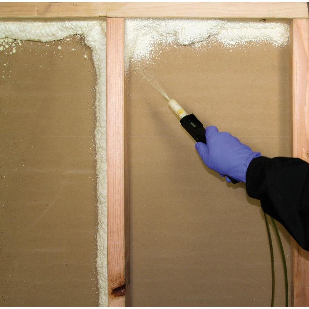 Touch N Foam 15 Board Foot Polyurethane 2 Component Spray Foam Kit 4006002506 The Home Depot