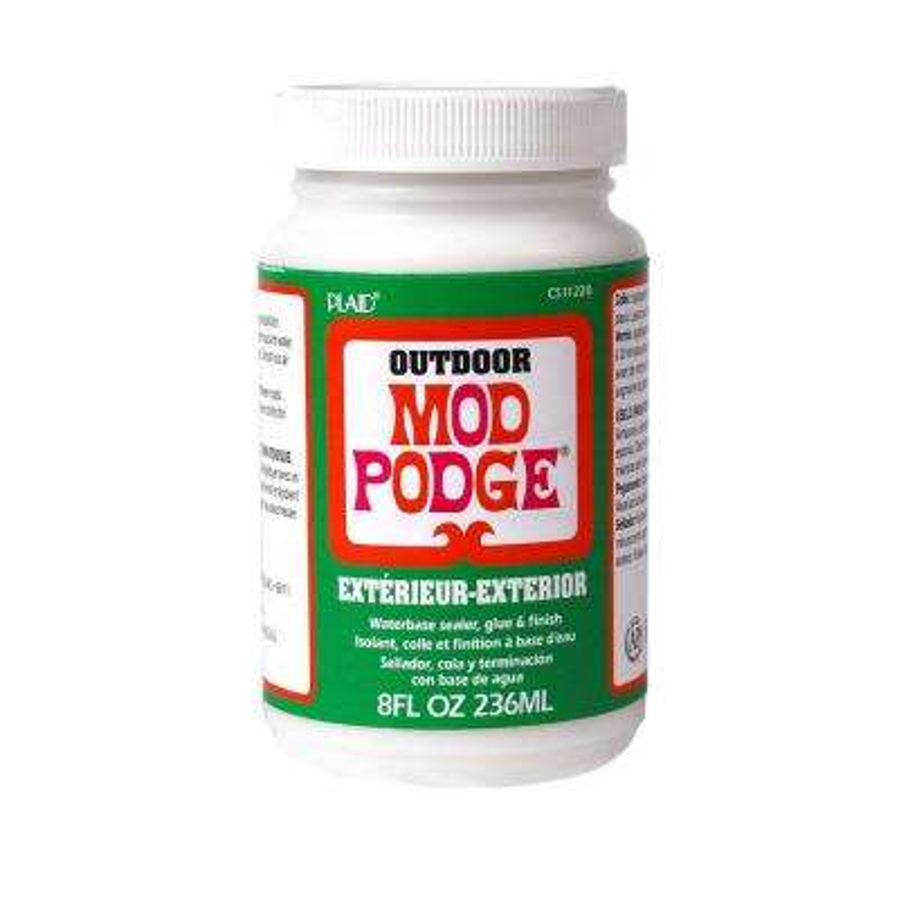 8 oz. Outdoor Decoupage Glue