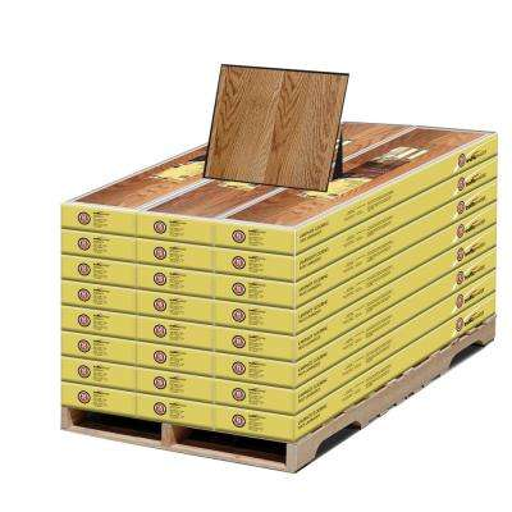 Lansbury Oak 7 mm T x 8.03 in. W x 47.64 in. L. Laminate Flooring (573.90 sq. ft. /pallet)