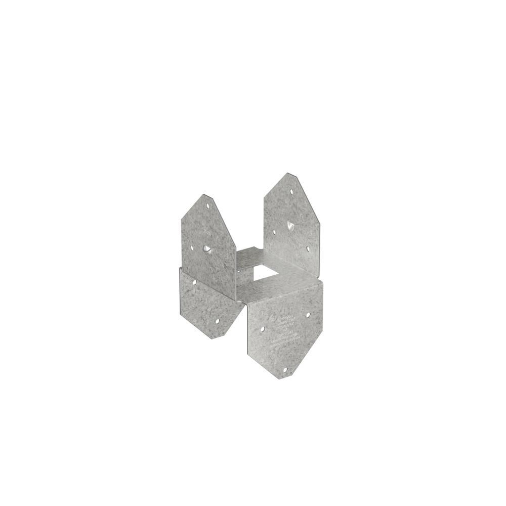 Simpson Strong-Tie ZMAX Galvanized Double Post Cap/Base
