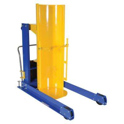 48 in. 1,500 lbs. Capacity Portable Hydraulic Drum Dumpers