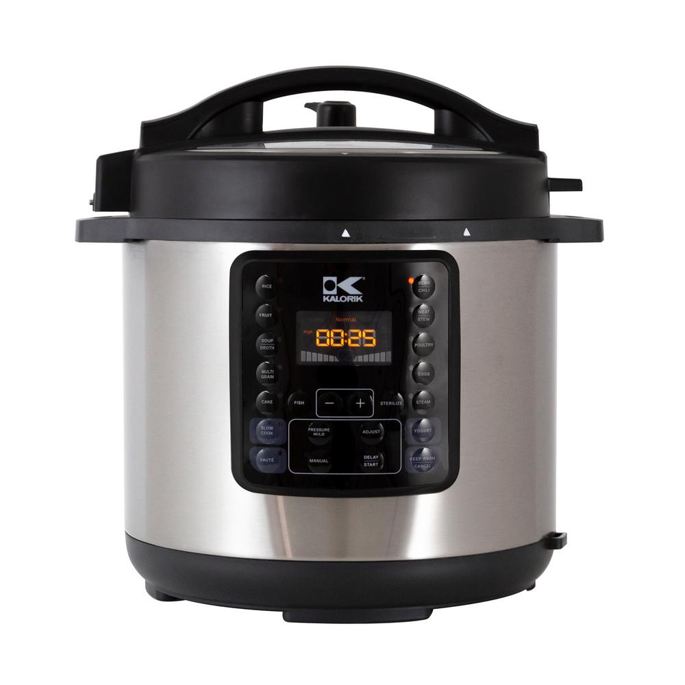 10-in-1 Multi Use 6 Qt. Stainless Steel Electric Pressure Cooker