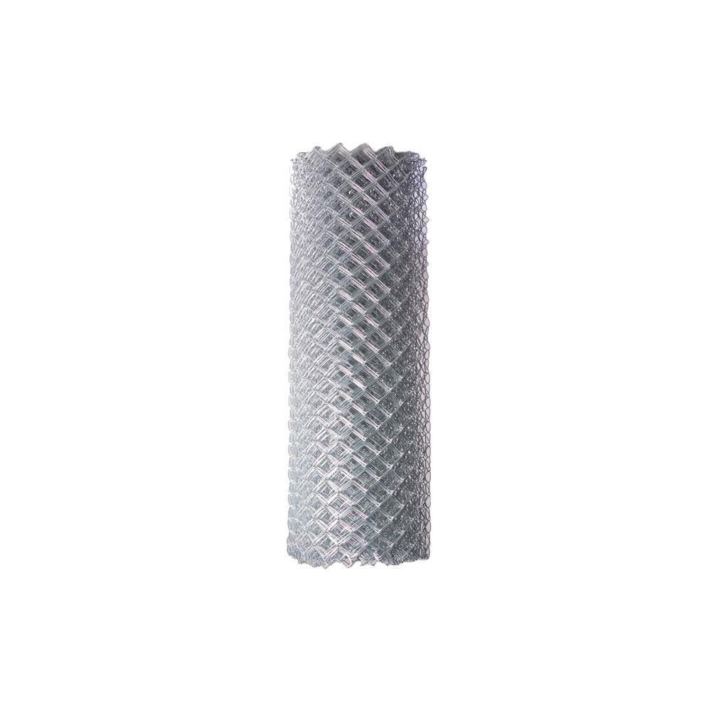 ALEKO 5 ft. x 50 ft. 11.5-Gauge Galvanized Steel Chain Link Fabric