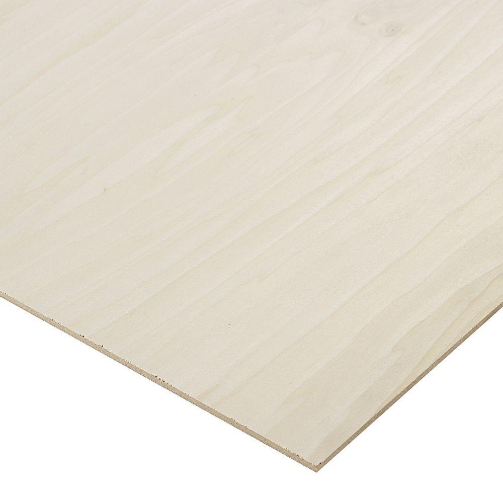 1/4 in. x 2 ft. x 8 ft. PureBond Poplar Plywood Project Panel (Free Custom Cut Available)