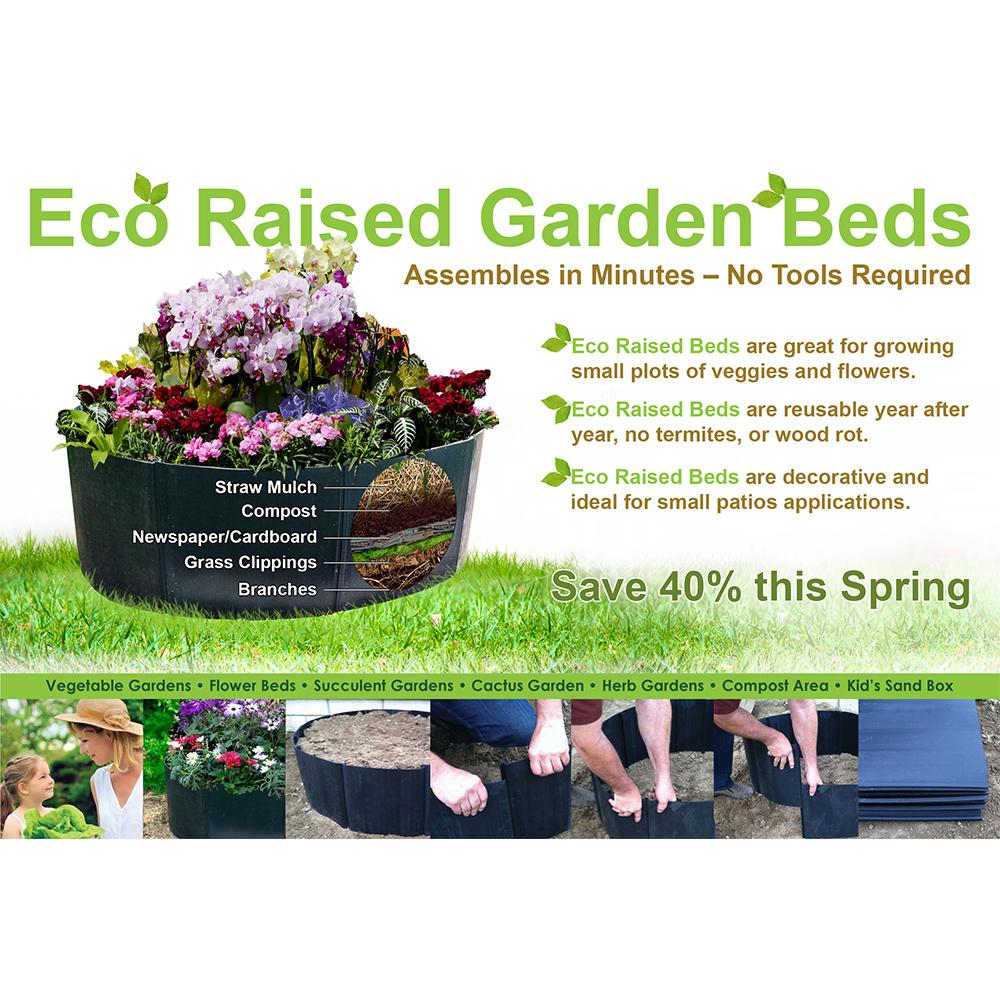 Eco Raised Garden Beds Ecobed The Home Depot