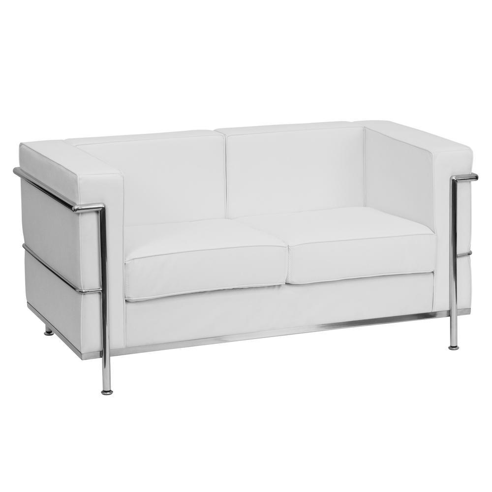 White - Sofas & Loveseats - Living Room Furniture - The Home ...