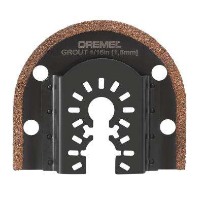 1/16 in. Multi-Max Universal Grout Removal Blade