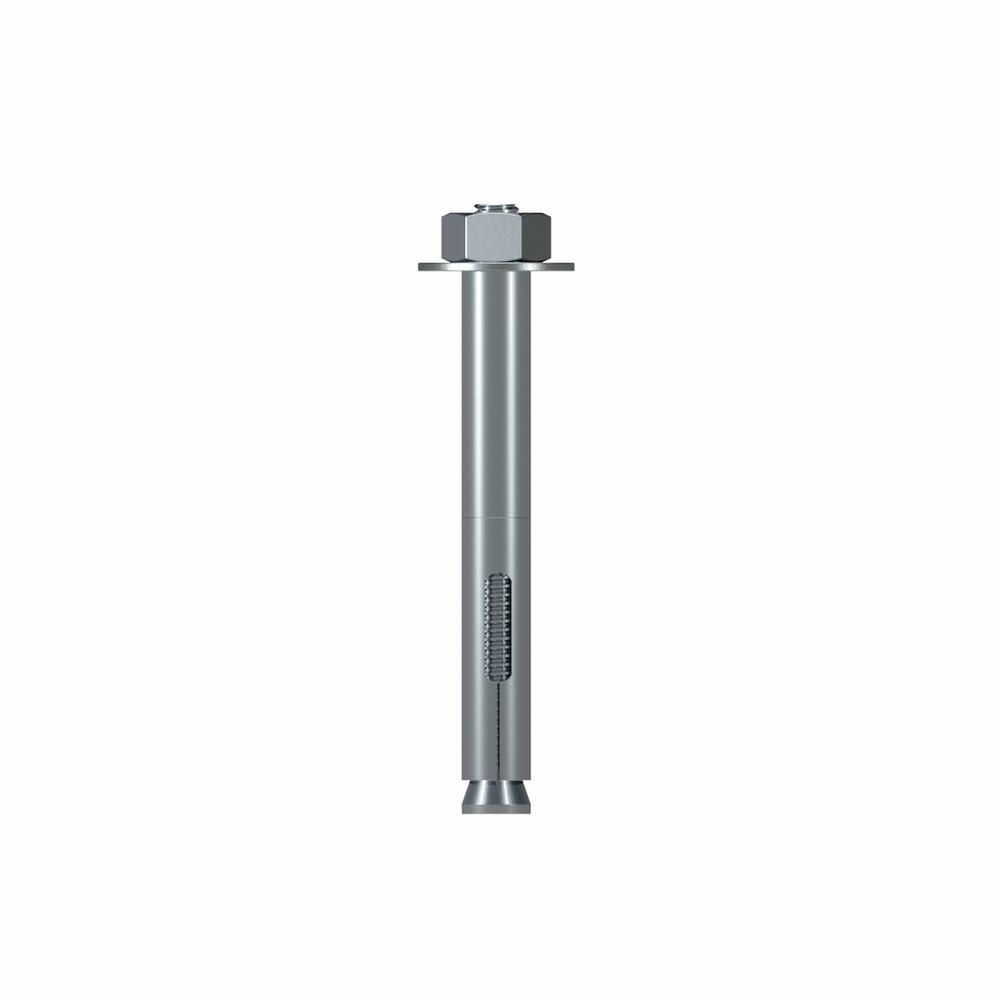 SL62600H 5//8 x 6 Carbon Steel Hex Head Sleeve-All Sleeve Anchors 10//pk