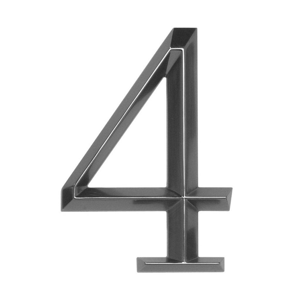 Whitehall Products Classic 6 in. Polished Nickel Number 4
