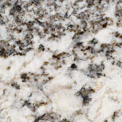 3 in. x 3 in. Granite Countertop Sample in Chesapeake Blue