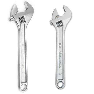 10 in. and 12 in. Adjustable Wrench Combo