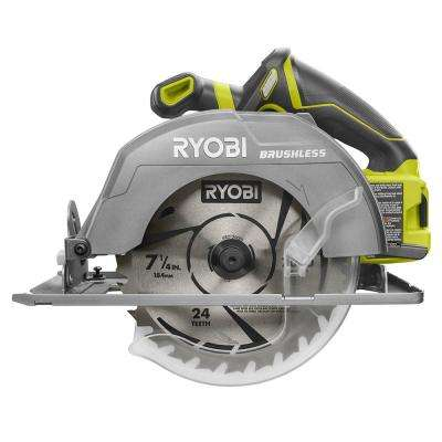 18-Volt One+ 7-1/4 in. Circular Saw (Bare Tool)