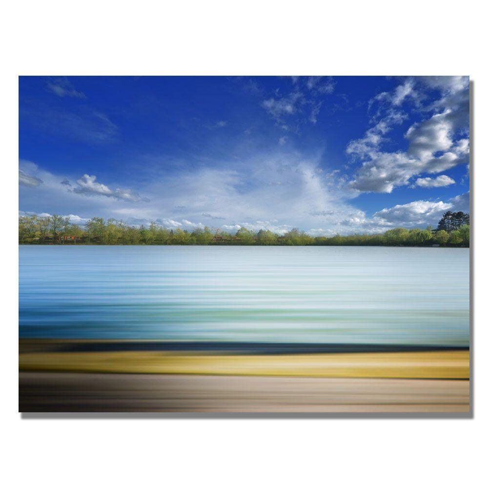 Trademark Fine Art 22 in. x 32 in. Lines Canvas Art-DISCONTINUED