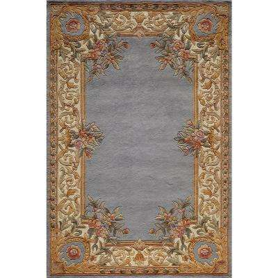 Chateau Blue 2 ft. x 3 ft. Indoor Area Rug