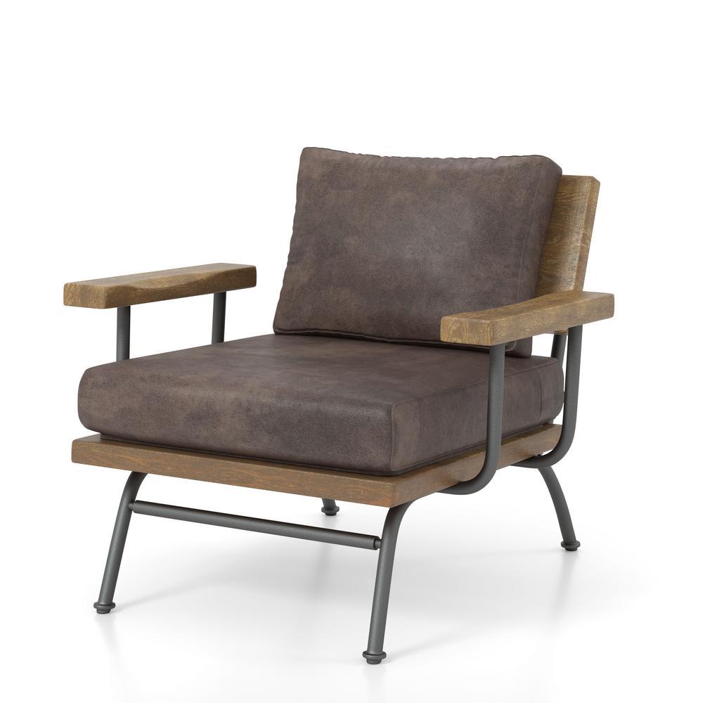 Alenia Ash Brown Accent Chair