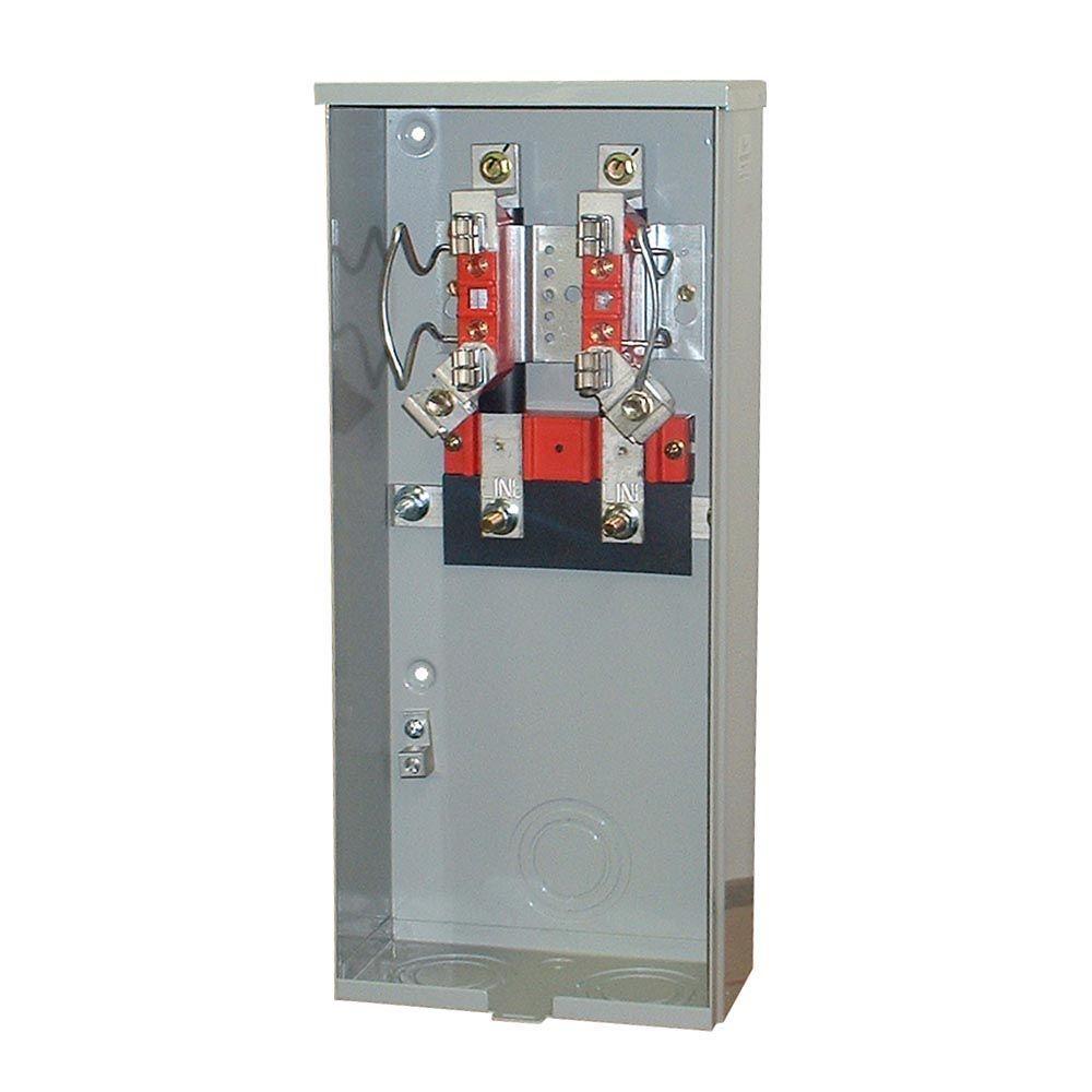 200 Amp 4 Terminal Ringless Underground Meter Socket