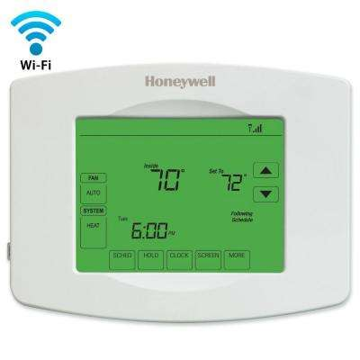 whites honeywell programmable thermostats rth8580wf 64_400_compressed honeywell thermostats heating, venting & cooling the home depot totaline thermostat p374 2800 wiring diagram at fashall.co