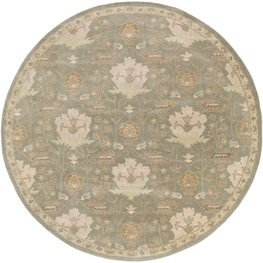 Artistic Weavers Maximian Moss 4 Ft. X 4 Ft. Round Indoor