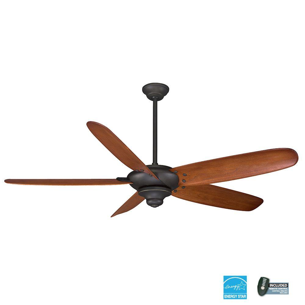 Home Decorators Collection Altura 68 In Indoor Brushed Nickel Ceiling Fan With Remote Control 26669