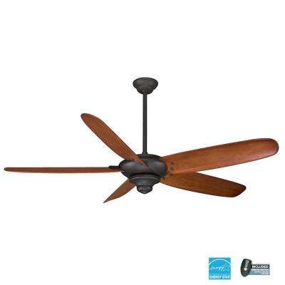 Altura 68 in. Indoor Oil Rubbed Bronze Ceiling Fan with Remote Control