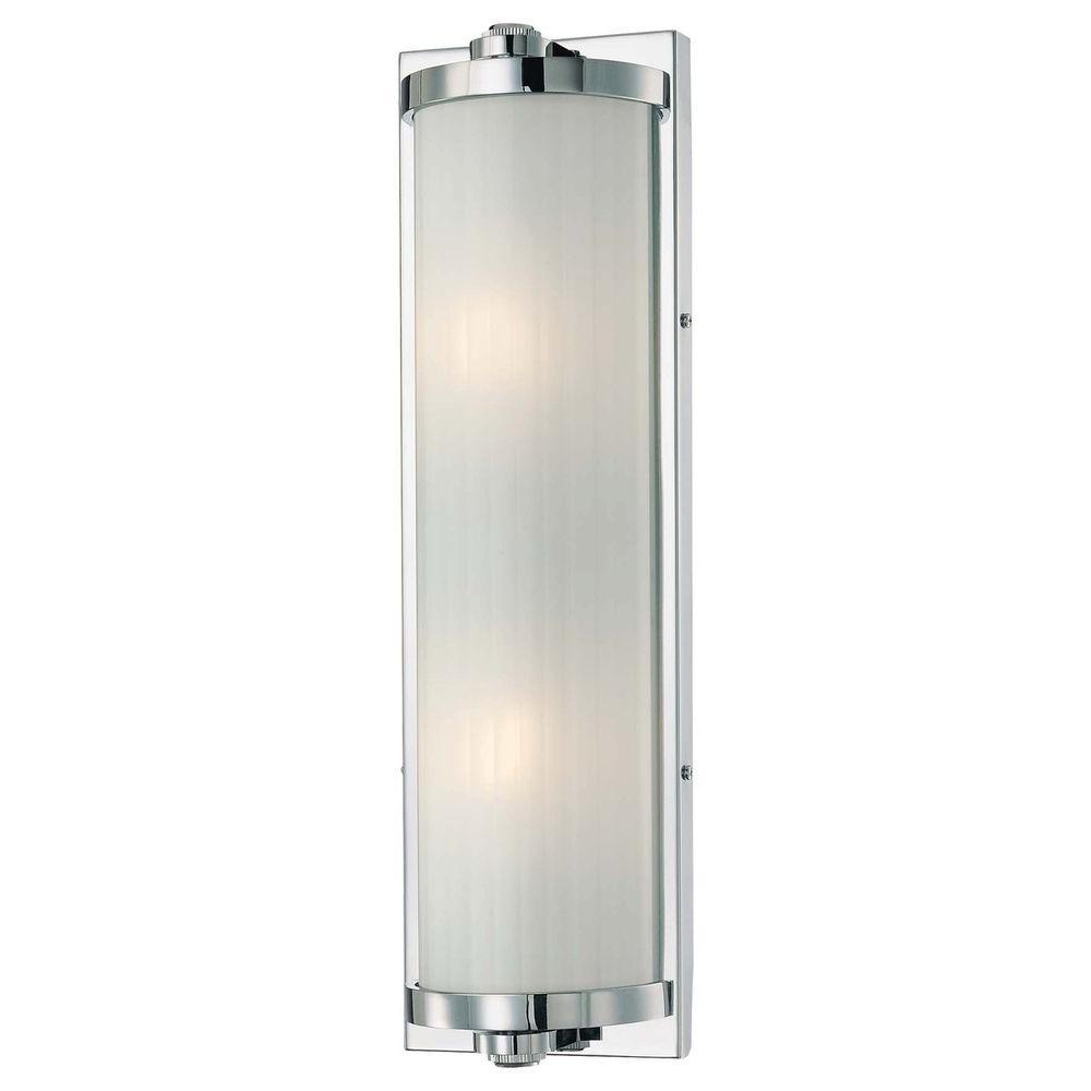 Minka Lavery 2-Light Chrome Bath Light