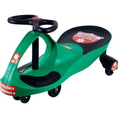 Ride on Toy Wiggle Car in Green