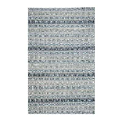 Haze Blue 8 ft. x 10 ft. Area Rug
