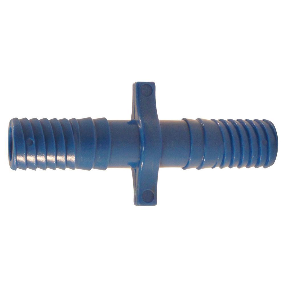1/2 in. Blue Twister Polypropylene Insert Coupling