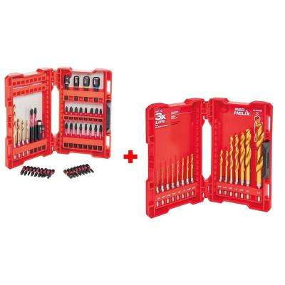 Shockwave Impact Duty Steel Drill and Driver Set (45-Piece)