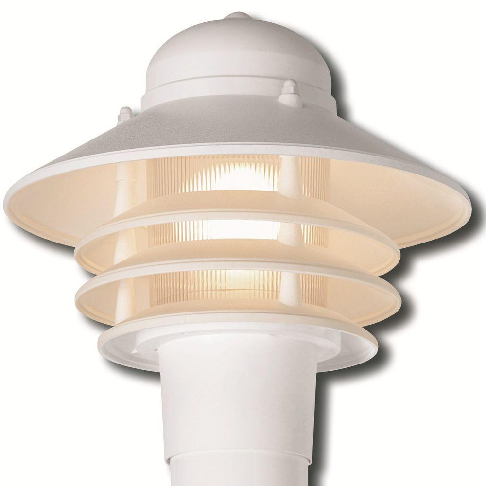 Newport Coastal Dunbar Nautical White Outdoor Post Light