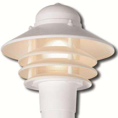 Dunbar Nautical White Outdoor Post Light